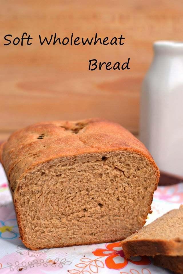 Soft Wholewheat Bread Recipe | HeyFood — heyfoodapp.com