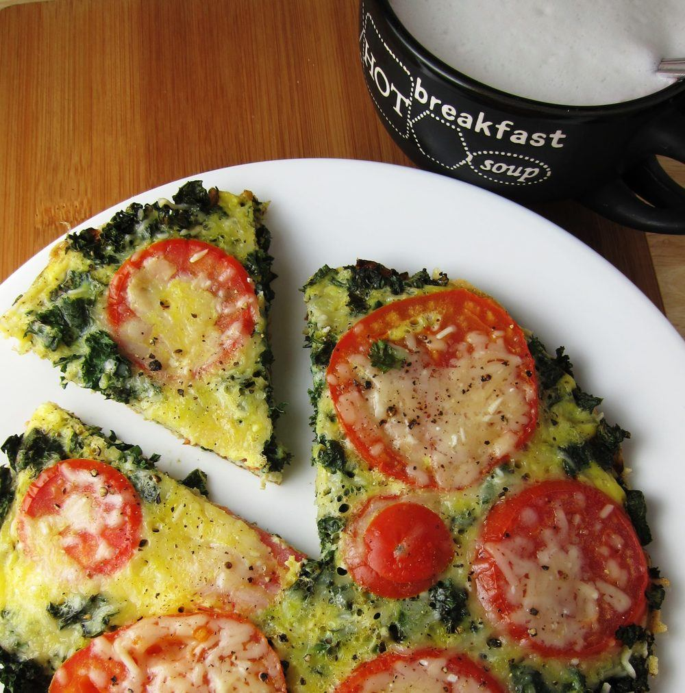 15 Minute Vegetable-Loaded No Bake Frittata Recipe | HeyFood — heyfoodapp.com