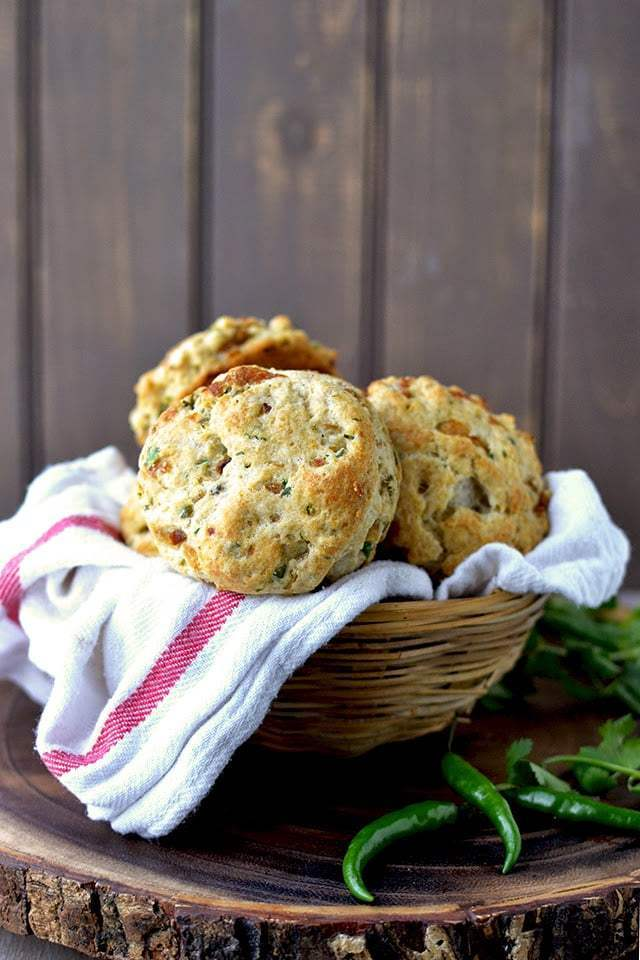Caramelized Onion Biscuits with Indian flavors Recipe | HeyFood — heyfoodapp.com