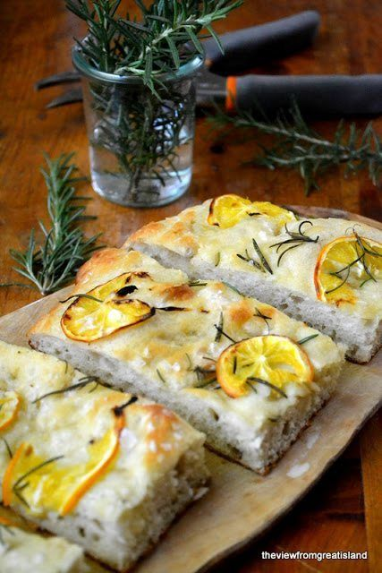 Meyer Lemon and Rosemary Focaccia Recipe | HeyFood — heyfoodapp.com