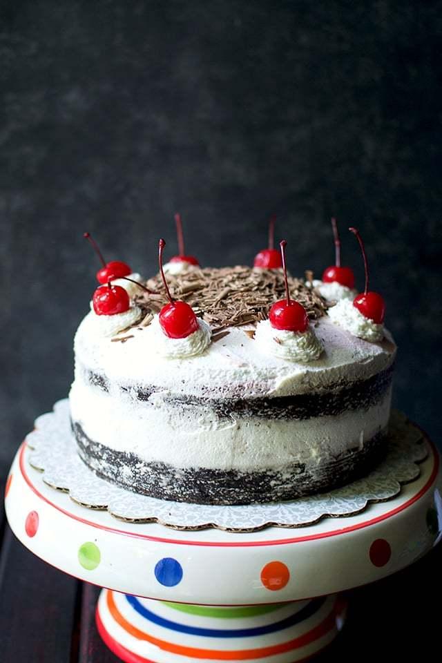 Black Forest Cake (Eggless Recipe) Recipe | HeyFood — heyfoodapp.com