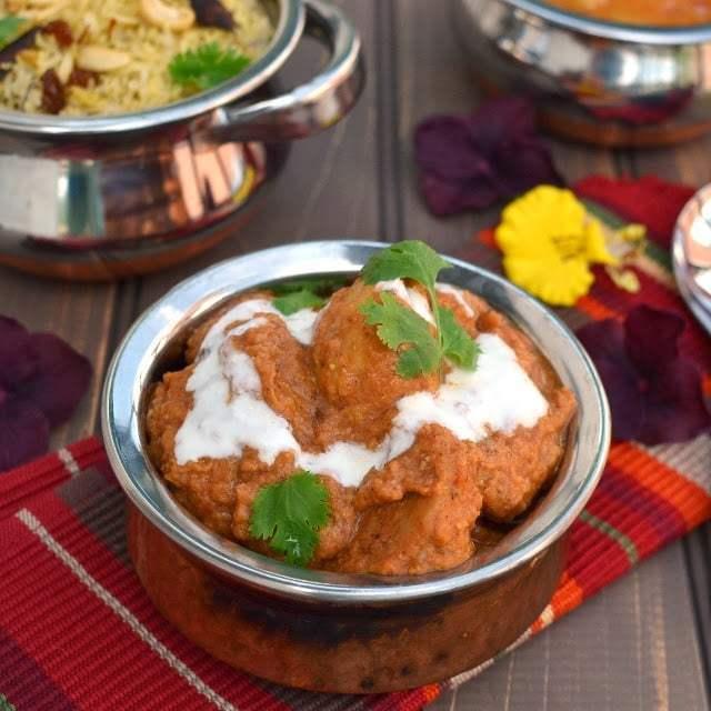 Shahi Arvi (Taro root/ Colacassia in Creamy Sauce) Recipe   HeyFood — heyfoodapp.com