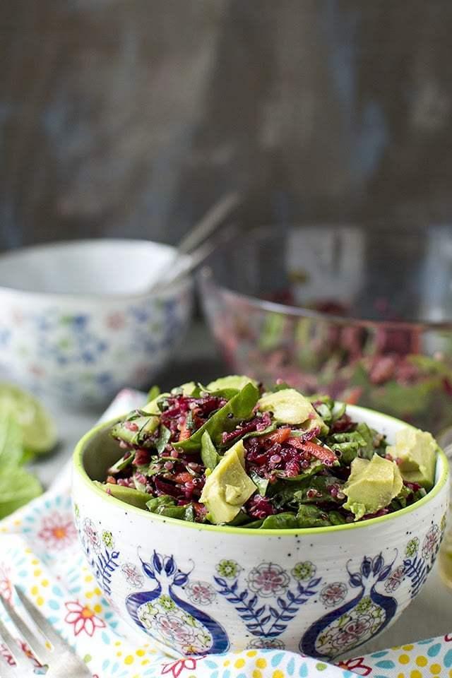 Beet & Quinoa Salad Recipe | HeyFood — heyfoodapp.com