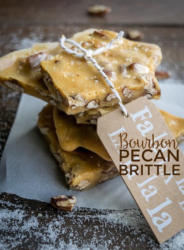 Bourbon Pecan Brittle Recipe | HeyFood — heyfoodapp.com