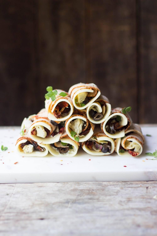 Antipasto Turkey Roll-Ups Recipe | HeyFood — heyfoodapp.com