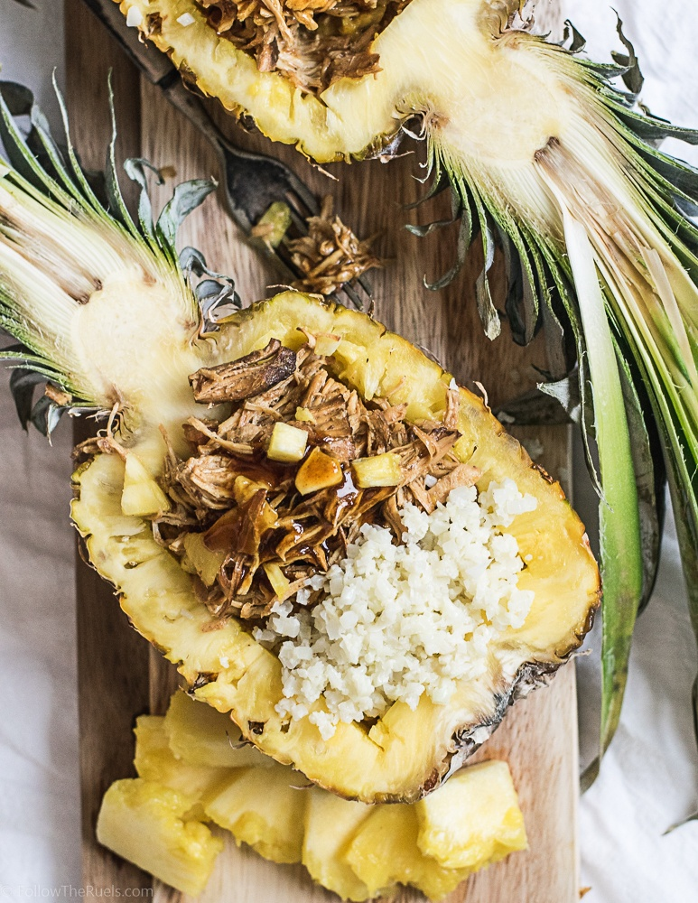 Pineapple Teriyaki Chicken Bowl Recipe | HeyFood — heyfoodapp.com