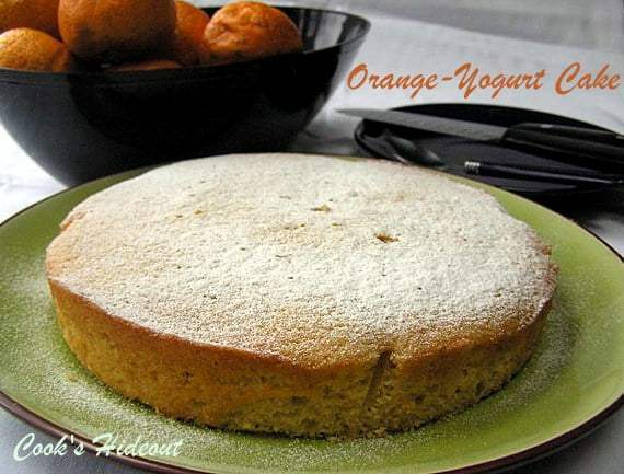 Orange-Yogurt Cake Recipe | HeyFood — heyfoodapp.com
