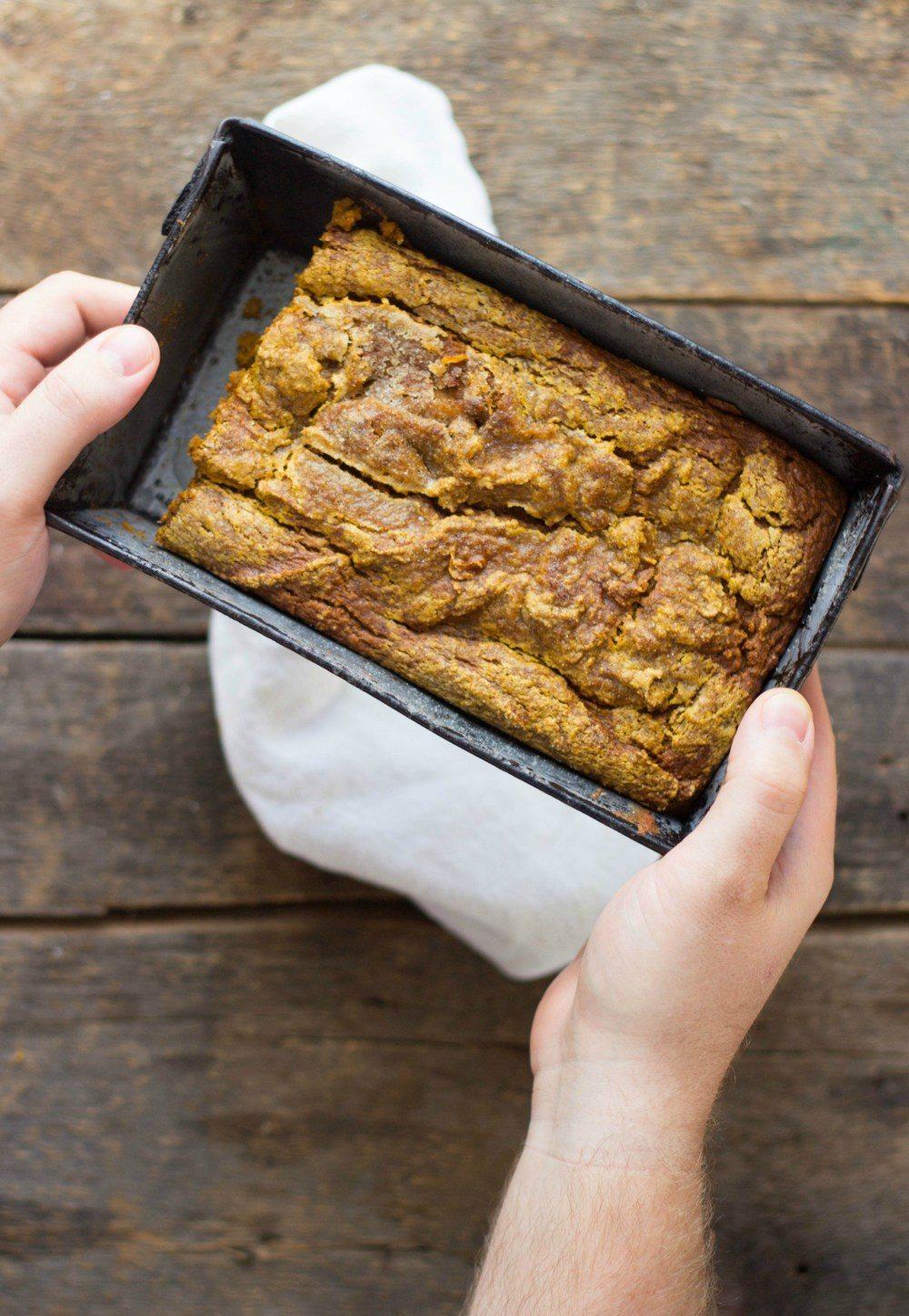 Spiced Pumpkin Bread Recipe   HeyFood — heyfoodapp.com