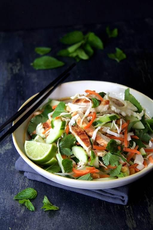 Vietnamese Chicken Salad Recipe   HeyFood — heyfoodapp.com