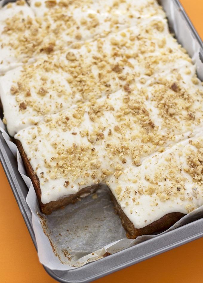 Easy (Oil Free!) Vegan Carrot Cake Recipe | HeyFood — heyfoodapp.com
