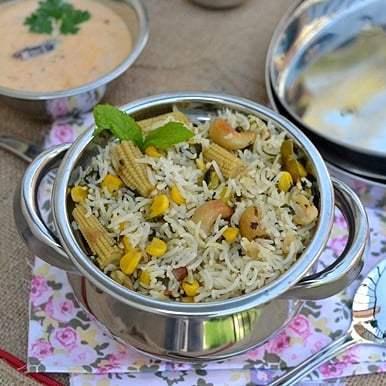 Corn Pulao Recipe | HeyFood — heyfoodapp.com