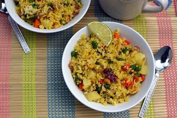Vegetable Poha Recipe | HeyFood — heyfoodapp.com
