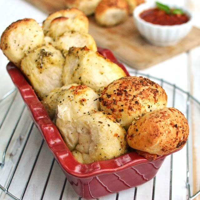 Pizza Monkey Bread Recipe | HeyFood — heyfoodapp.com