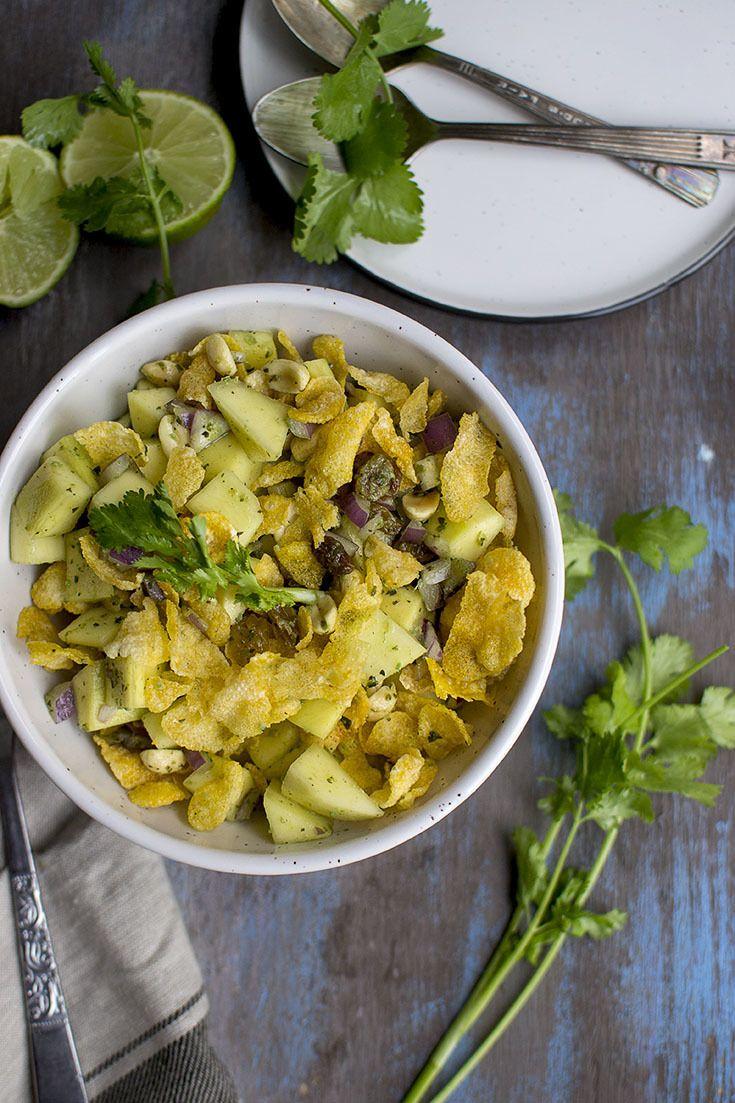 Mango Chaat (Indian Crunchy Raw Mango Salad) Recipe | HeyFood — heyfoodapp.com
