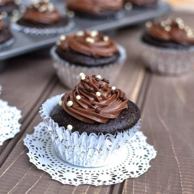 Basic Vegan Chocolate Cupcake Recipe | HeyFood — heyfoodapp.com