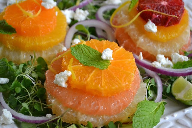 Sicilian Citrus Salad Recipe   HeyFood — heyfoodapp.com