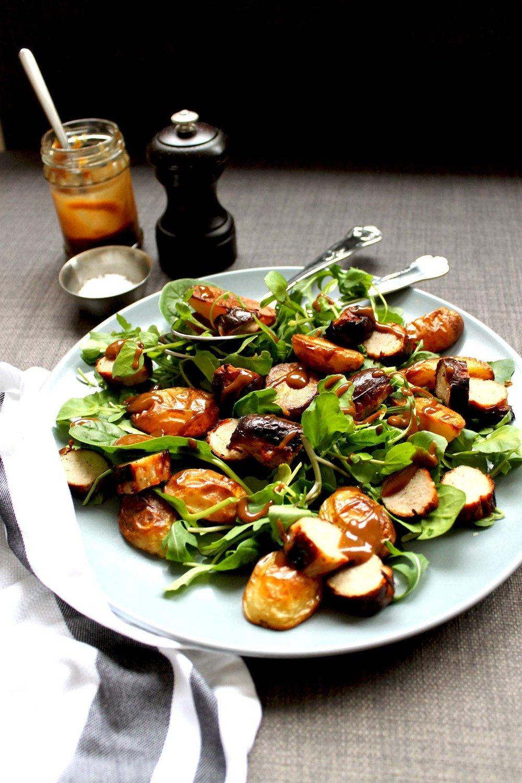 Tray roast salad (GF, V version) Recipe | HeyFood — heyfoodapp.com