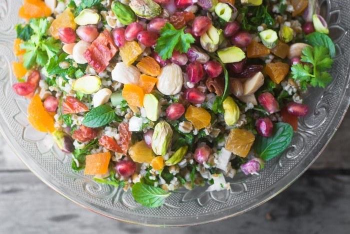 Jeweled Tabbouleh Recipe | HeyFood — heyfoodapp.com