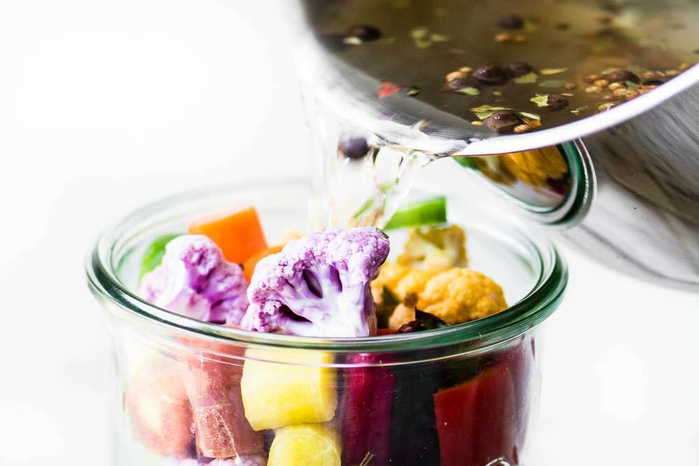 Quick Rainbow Giardiniera Recipe | HeyFood — heyfoodapp.com