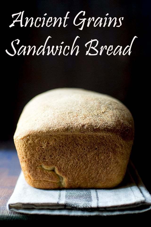 Ancient Grains Sandwich Bread Recipe   HeyFood — heyfoodapp.com