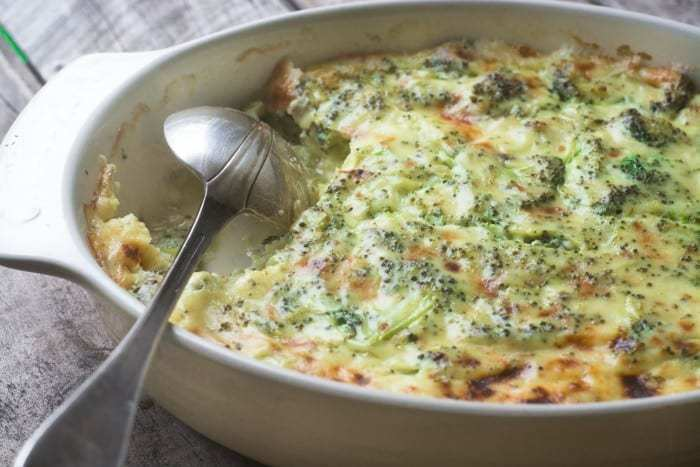 Broccoli Cheese Casserole Recipe | HeyFood — heyfoodapp.com