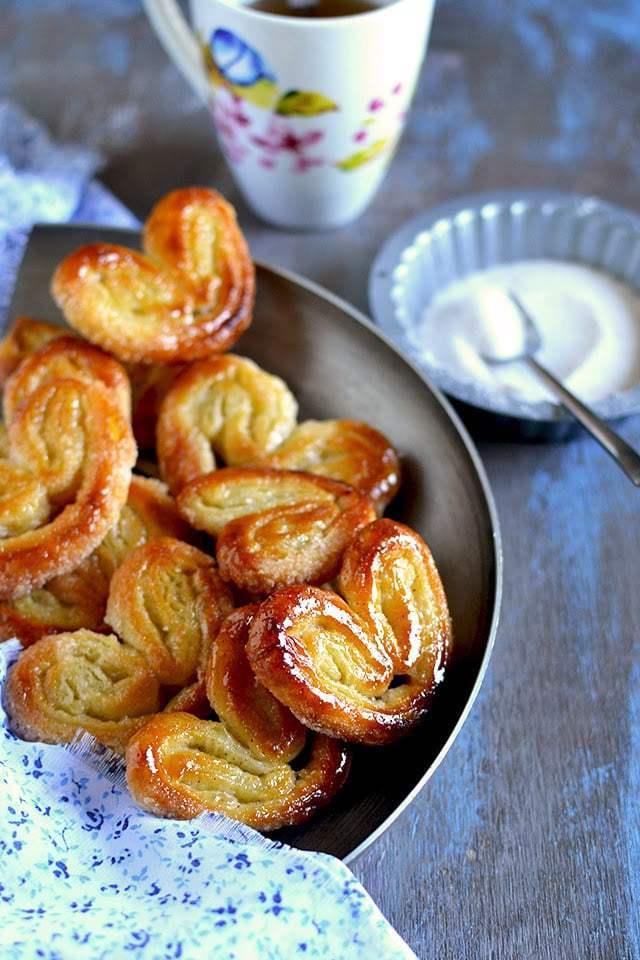 Homemade Palmiers Recipe | HeyFood — heyfoodapp.com