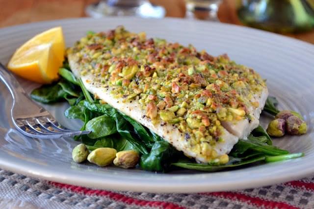 Minimal Monday: Pistachio Crusted Flounder Recipe   HeyFood — heyfoodapp.com