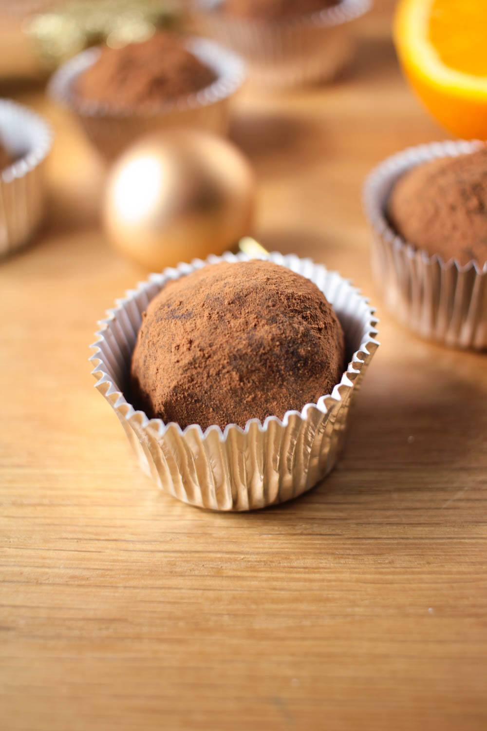 Dark Chocolate Orange Truffles Recipe | HeyFood — heyfoodapp.com