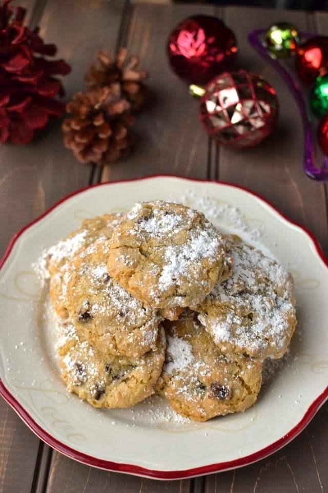 Almond-Pistachio Cloud Cookies Recipe | HeyFood — heyfoodapp.com