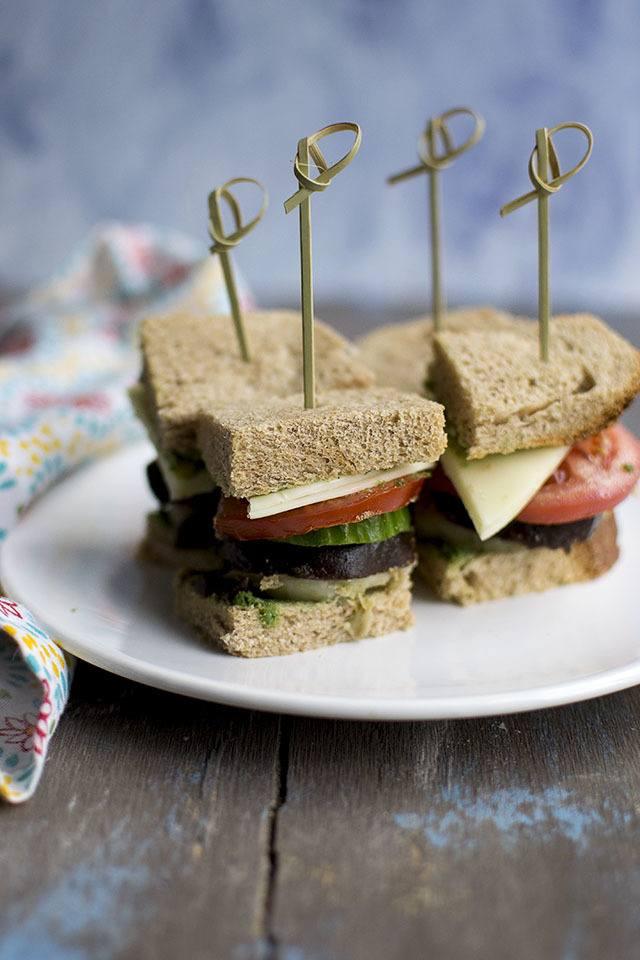 Bombay Veggie Sandwich Recipe   HeyFood — heyfoodapp.com