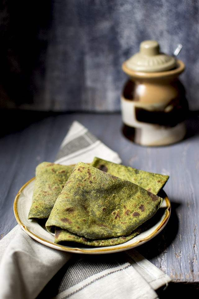 Avocado Palak Roti Recipe | HeyFood — heyfoodapp.com
