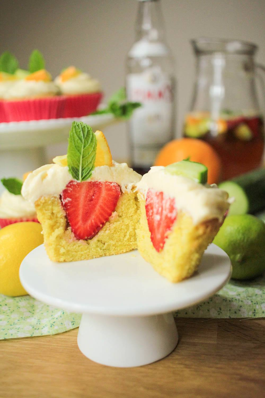 Pimm's Cupcakes Recipe | HeyFood — heyfoodapp.com