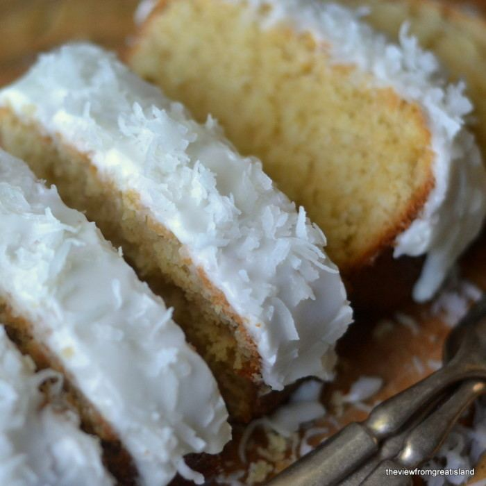 Triple Coconut Pound Cake Recipe | HeyFood — heyfoodapp.com