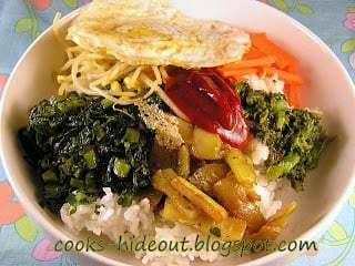 Vegetarian Bi Bim Bap Recipe | HeyFood — heyfoodapp.com