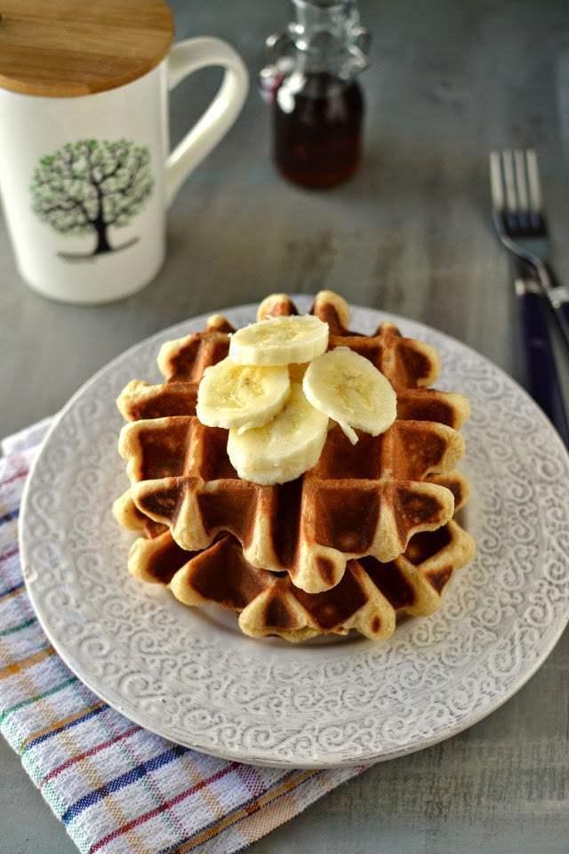 Belgium Waffles Recipe | HeyFood — heyfoodapp.com