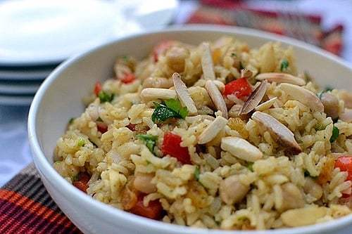 Curried Brown Rice Salad Recipe | HeyFood — heyfoodapp.com
