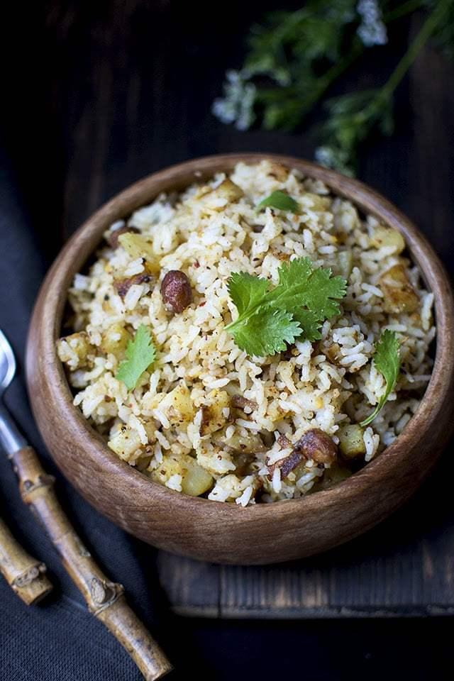 Peanut Rice Recipe | HeyFood — heyfoodapp.com