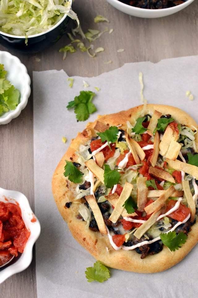 Taco Pizza Recipe   HeyFood — heyfoodapp.com
