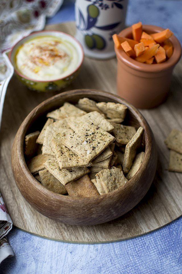Sprouted Wheat Crackers Recipe | HeyFood — heyfoodapp.com
