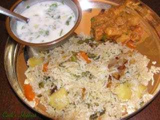 Vegetable Biryani Recipe | HeyFood — heyfoodapp.com