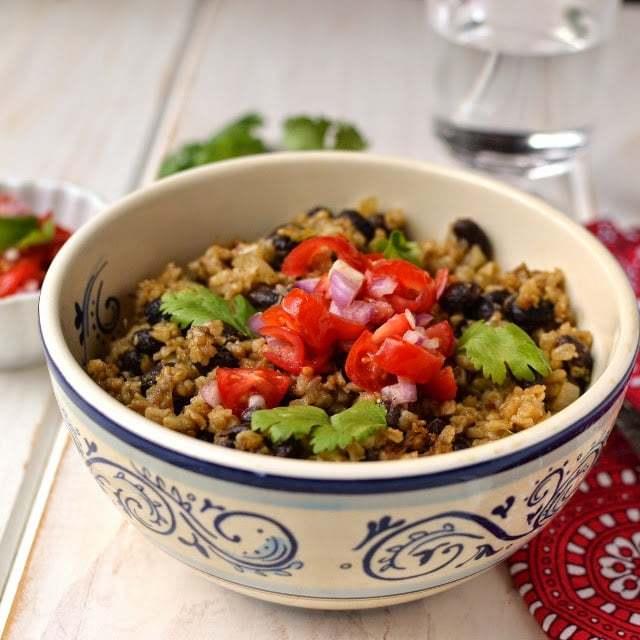 Costa Rican Refried Rice & Beans Recipe | HeyFood — heyfoodapp.com