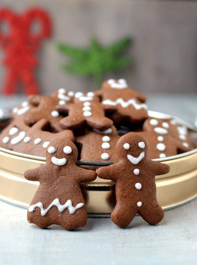 Gingerbread People Cookies Recipe | HeyFood — heyfoodapp.com