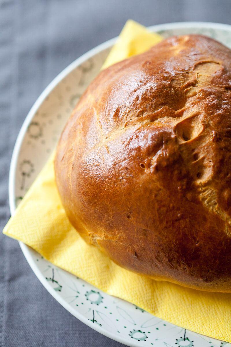 Easter Egg Bread Recipe | HeyFood — heyfoodapp.com