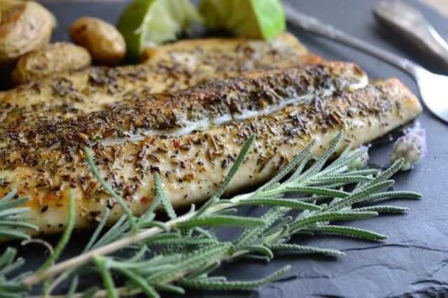 Pan Fried Trout with Herbes de Provence Recipe | HeyFood — heyfoodapp.com
