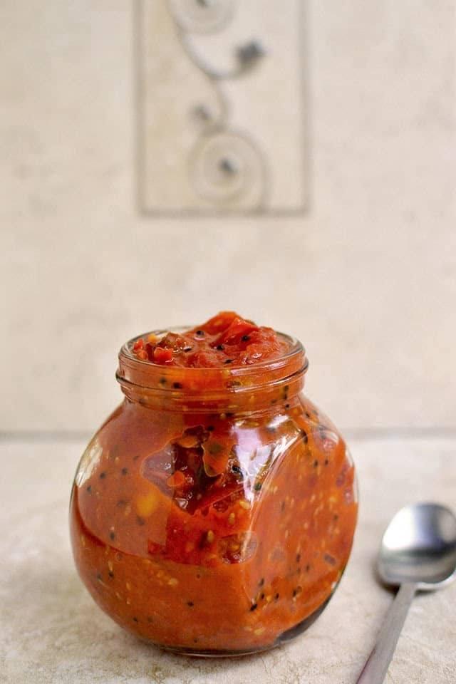 Cherry Tomato Pachadi (Cherry tomato Chutney) Recipe | HeyFood — heyfoodapp.com
