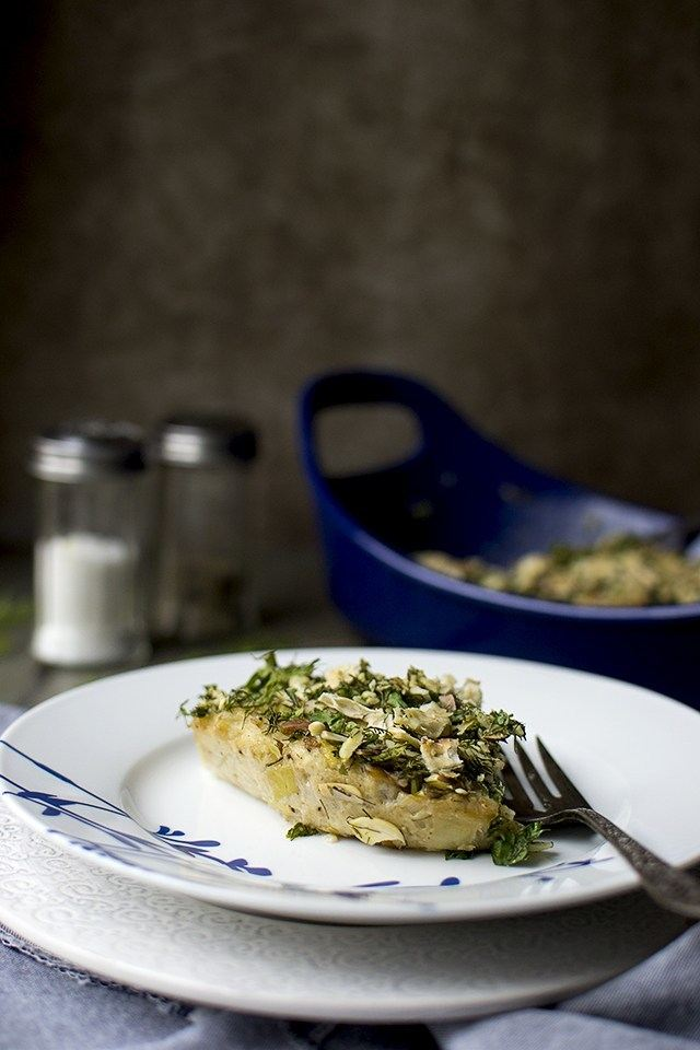 Cauliflower Leek Kugel (Savory Jewish Pudding) Recipe | HeyFood — heyfoodapp.com