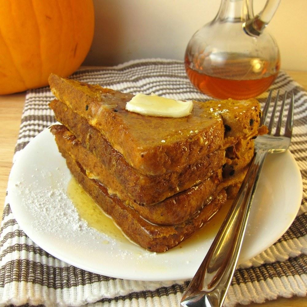 Pumpkin French Toast Recipe | HeyFood — heyfoodapp.com