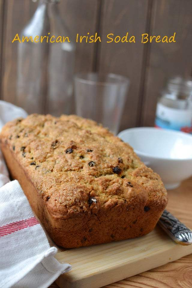 American Style Irish Soda Bread Recipe | HeyFood — heyfoodapp.com