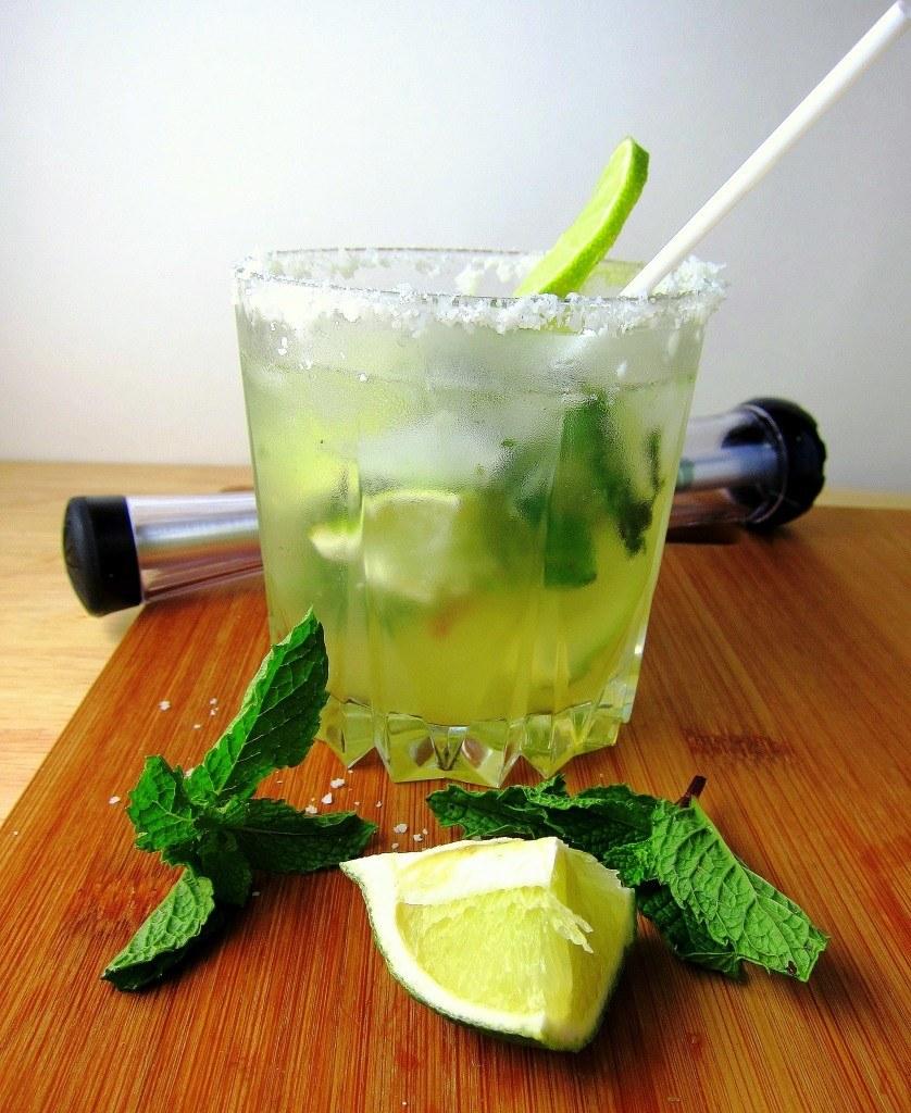 Coconut Mojitos with Agave Syrup Recipe   HeyFood — heyfoodapp.com