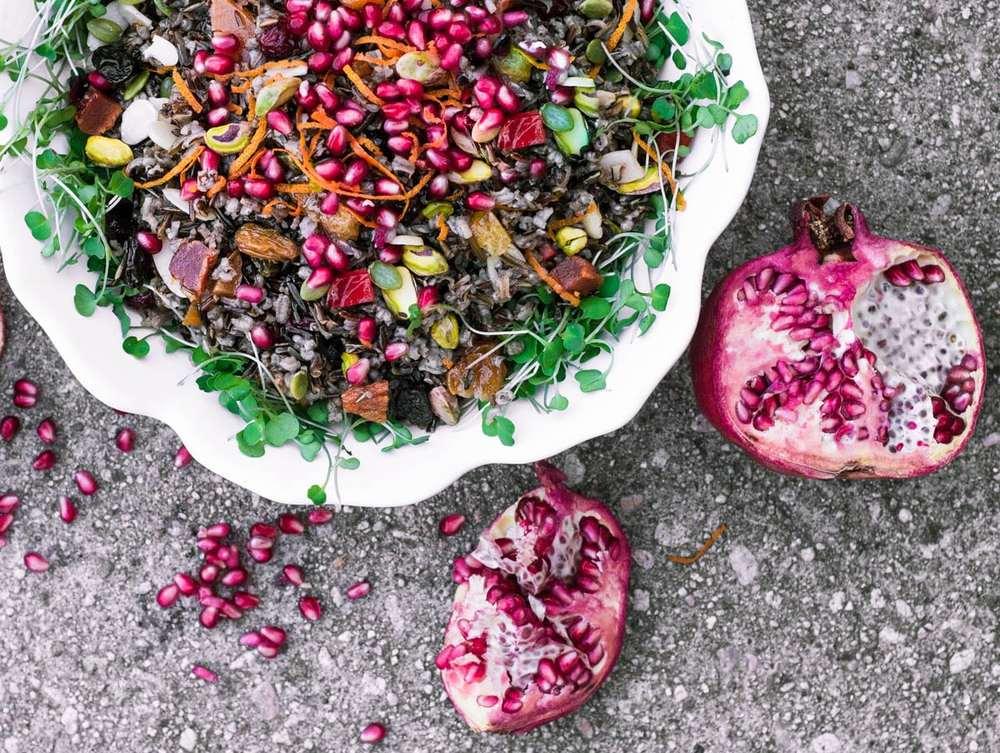 Jeweled Wild Rice Recipe | HeyFood — heyfoodapp.com